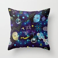 Cosmic Trip Throw Pillow