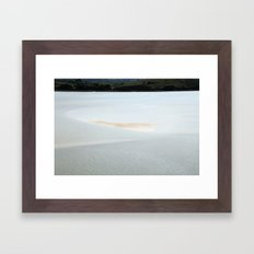 In the end is our beginning Framed Art Print