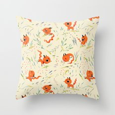Fox Tales - The Fox Throw Pillow