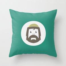 Cyclesquatch Throw Pillow