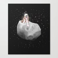 Lost In A Space / Phobos… Canvas Print