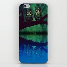 owl-271 iPhone & iPod Skin