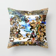HISTORICAL-2 Throw Pillow