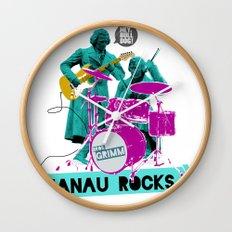 Hanau Rocks Wall Clock
