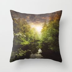 I miss you so much Throw Pillow