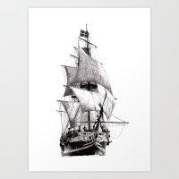 Art Print featuring Grand Turk by Rik Reimert