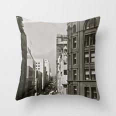 Urban Synthesis Throw Pillow