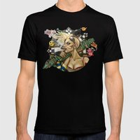 Tank Girl Nouveau Mens Fitted Tee Black SMALL