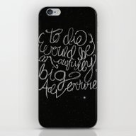 Peter Pan Quote iPhone & iPod Skin
