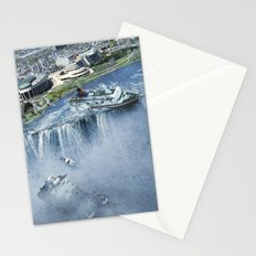 Earth Falls Away Stationery Cards