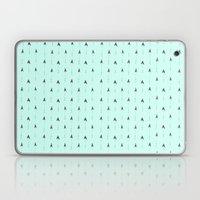 Mint Magic Arrows Laptop & iPad Skin
