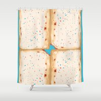 Popterts Shower Curtain