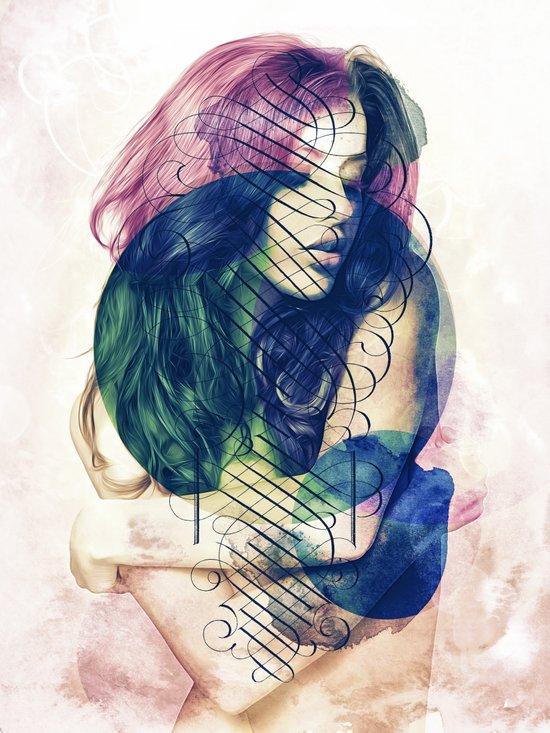 Ecstasy has No Name. Art Print
