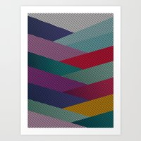 Shape series 6 Art Print