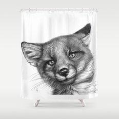 Fox Cub G139 Shower Curtain