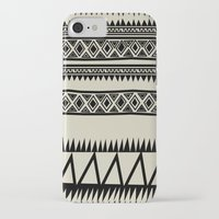 zebra iPhone & iPod Cases featuring MALOU ZEBRA by Aztec