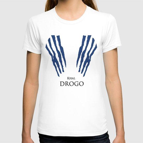 Khal Drogo - Minimalist Poster T-shirt