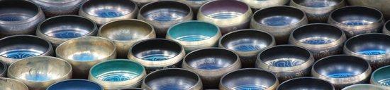 Singing Bowls Art Print