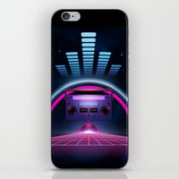 Boombox: Echos Of Tomorr… iPhone & iPod Skin