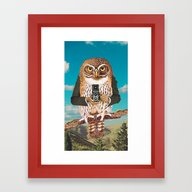 Just Say Cheese ! Framed Art Print
