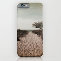 iPhone & iPod Case featuring Beach Path by Nick Douillard