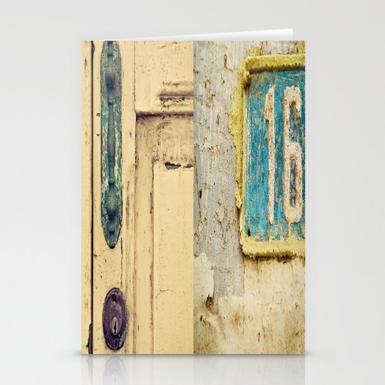 The Door Stationery Card