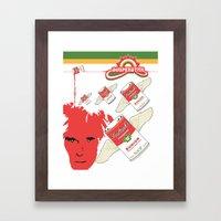 Soultank Souperstar Framed Art Print