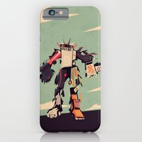 iPhone & iPod Case featuring famous car monster by Yetiland