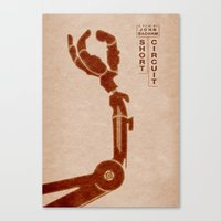 Short Circuit  - MINIMALIST POSTER Canvas Print