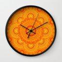 omulyána dancing gallery mandala Wall Clock
