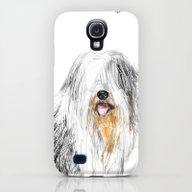Old English Sheepdog Galaxy S4 Slim Case
