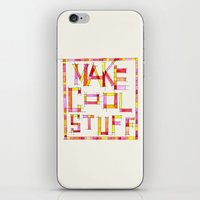 Make Cool Stuff iPhone & iPod Skin