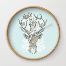 Friends & Birds Wall Clock