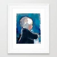 Siri Framed Art Print