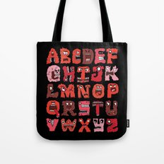 Angry Letters Tote Bag