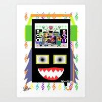 I disco Piff  Art Print