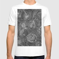 Inverse Contours Mens Fitted Tee White SMALL