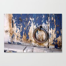 Entrance to an Old World Canvas Print