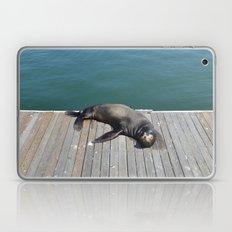 Sea Lion Smile Laptop & iPad Skin