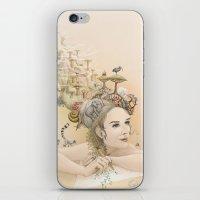 Animal princess iPhone & iPod Skin