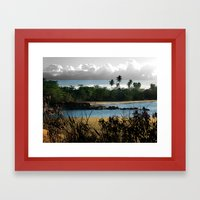 Changing nature Framed Art Print