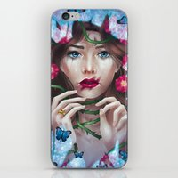The Wild Rose iPhone & iPod Skin