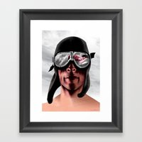 The Man Who Wanted To Be… Framed Art Print