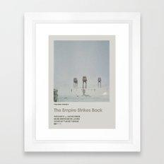 Retro Cinema Poster:Em… Framed Art Print