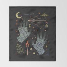 A Curse Upon You! Throw Blanket