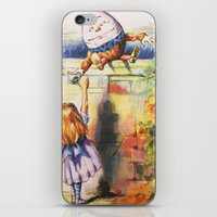 Alice Meeting Humpty Dealer iPhone & iPod Skin