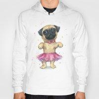 Pug In A Tutu | Cute Dog… Hoody