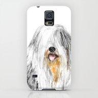 Old English Sheepdog Galaxy S5 Slim Case
