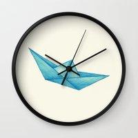 High Seas   Origami   Simplified Wall Clock