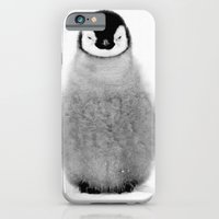 penguin iPhone & iPod Cases featuring PENGUIN by Ylenia Pizzetti
